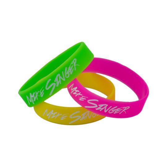 Neon Wristbands im Dreierpack