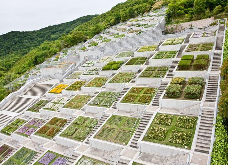 Awaji Yumebutai - Tadao Ando terraced gardens on Awaji Island, Japan