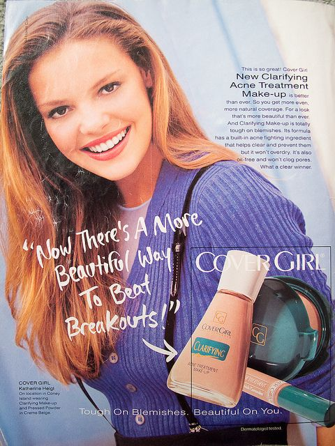 Dr Izzie Stevens Was The Face Of Cover Girl Nostalgia