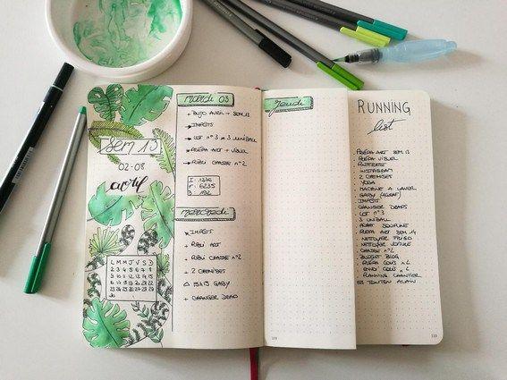 Comment Utiliser Les Tombow Dual Brush Pen Dans Son Bullet Journal