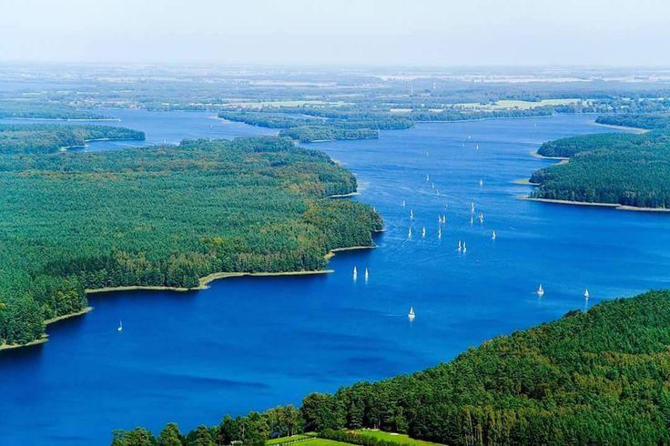 Jezioro Jeziorak, Iława, Mazury