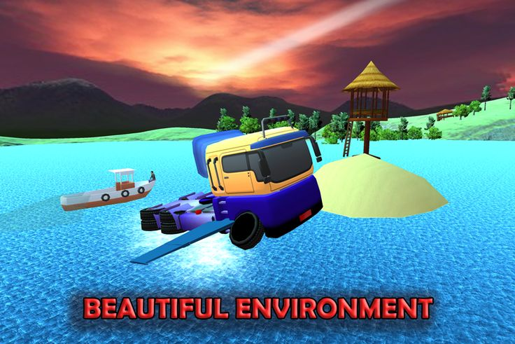 Flying Submarine Police Truck screenshot Police truck