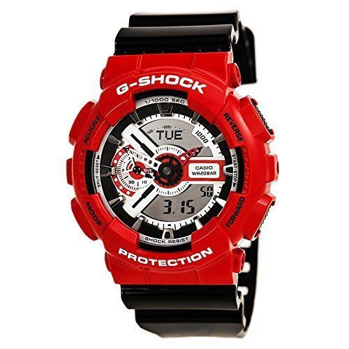 Mens 64518: G-Shock Ga-110Rd Red Red One Size Mens Watches, New -> BUY IT NOW ONLY: $81.43 on eBay!
