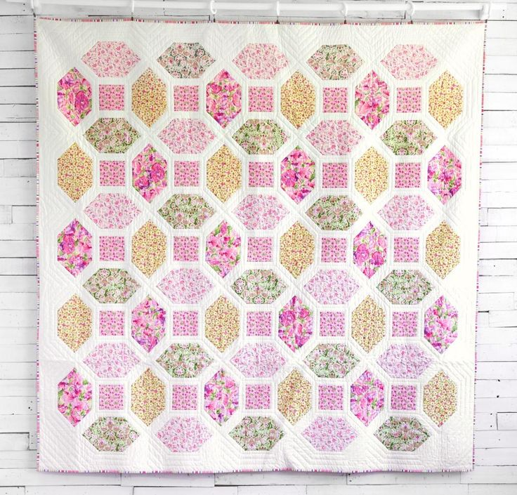 Octagon Quilting Templates : 796 Best images about Quilts - Flower/Garden on Pinterest Gardens, Garden blocks and Quilt