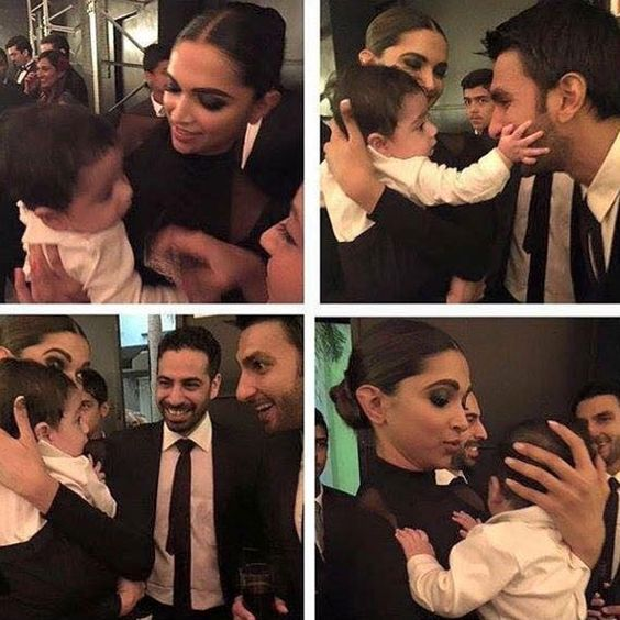 Deepika Padukone and Ranveer Singh clicked with baby her BFF's wedding: