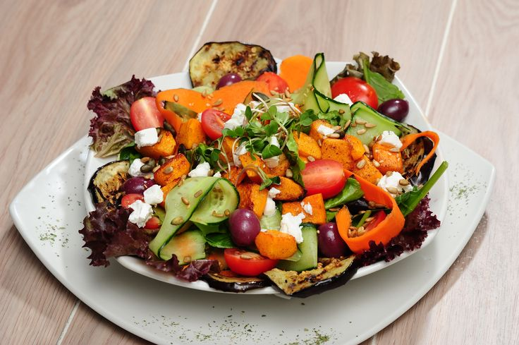 Our delicious Veg Supreme Salad :)