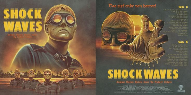 Shock Waves, (alternate titles: Almost Human (UK), Death Corps), is a 1977 horror film written and directed by Ken Wiederhorn. The screenplay concerns a group of tourists who encounter aquatic Nazi…
