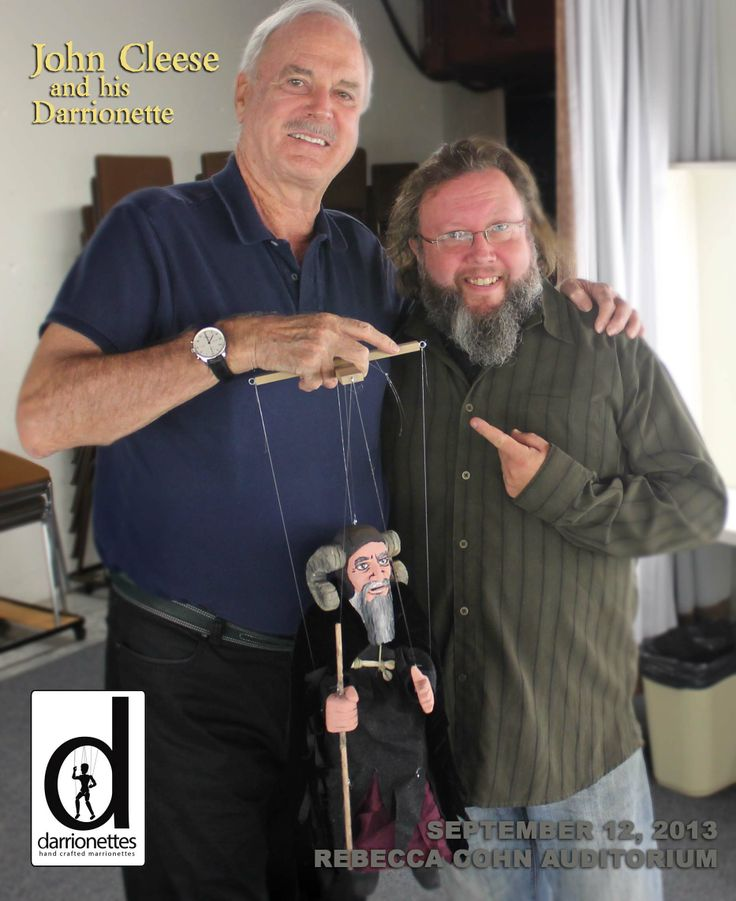 John Cleese and a 'Tim' Darrionette! Doesn't get much better than this guy when it comes to Comedy!