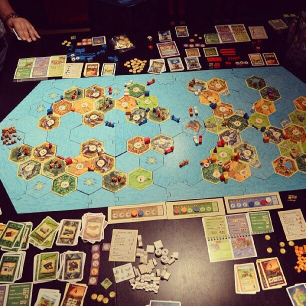 Super Catan and link to rules