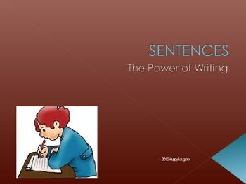 Writing Correct Sentences PowerPoint - good for test prep, too! Supports Common Core.