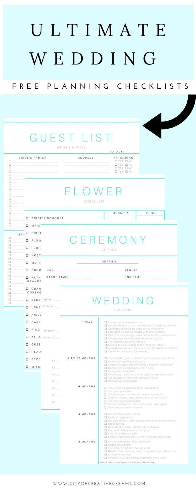Wedding Planning Basics What Do You Need To Know Ultimate Wedding Planning Checklist Wedding Checklist Budget Wedding Planning Checklist Printable