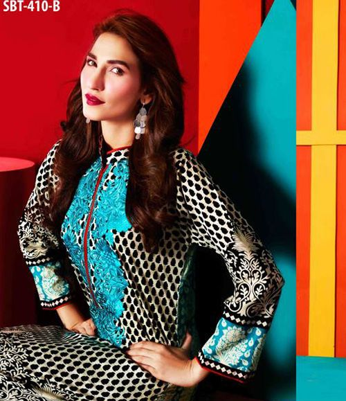 Tawwakal Festive Embroidered Kurtis Collection SBT_410B