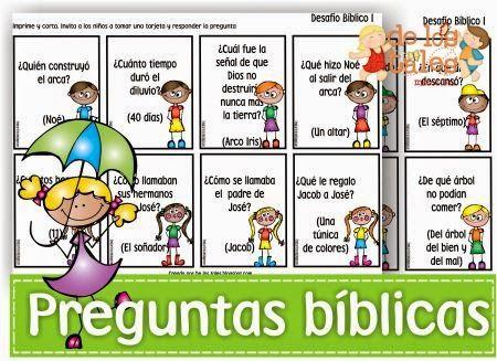 De los tales: Preguntas bíblicas