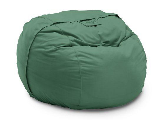Lovesac | Suede Bean Bag, Suede Bean Bag Chairs, Brown Bean Bag Chair