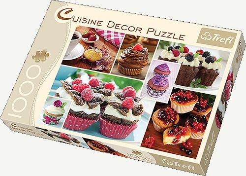 Puzzle Trefl 1000 el. 10360 Cuisine Decor Muffiny