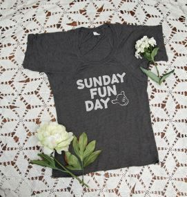 Sunday Funday is a fun shirt... Don't you think? Excited to share the latest addition to my #etsy shop: Sunday Funday T-Shirt, Sunday Funday T shirt, T Shirt, Sunday Funday shirt, Gift for her shirt, Sunday Funday, Top Tees, Mama Shirt #clothing #women #tshirt #unisexshirt #ladiestshirt #womanstshirt #bdaygiftforher #giftforher #toptees