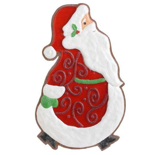 RAZ Cookie Confection 20 inch Santa Cookie decoration  shelley b home and holiday
