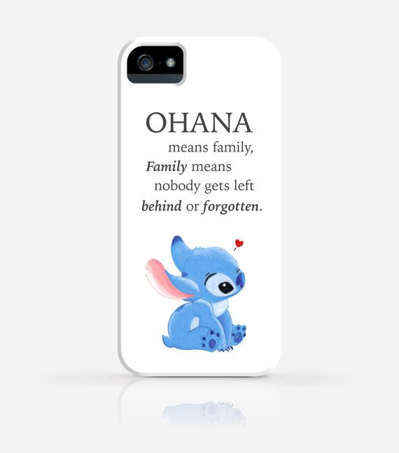 Stitch Disney Ohana Means Family iPhone 6 case iPhone by byJanice