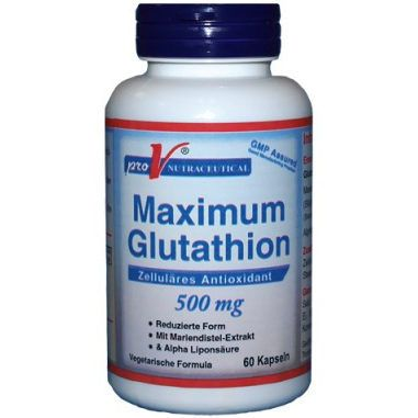 Pro V Nutraceutical Maximum Glutathione 500mg 60caps
