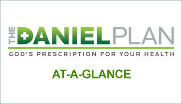 The Daniel Plan  Glorifying GOD in the way we eat, move and think - God's Prescription for Your Health