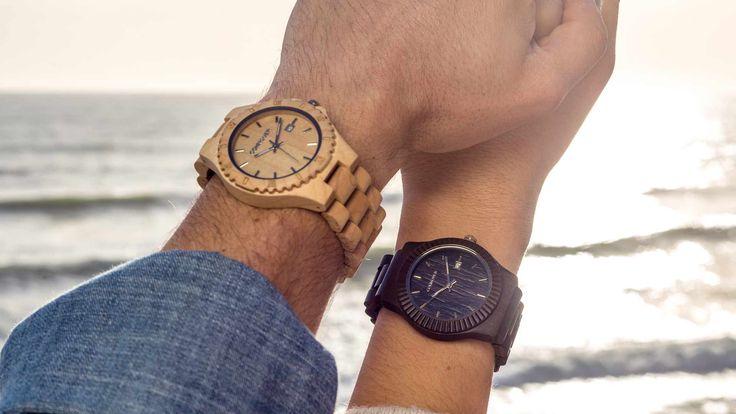 Relojes de Madera Cohnquer. #modahombre #modamujer #moda #relojes #relojesdemadera