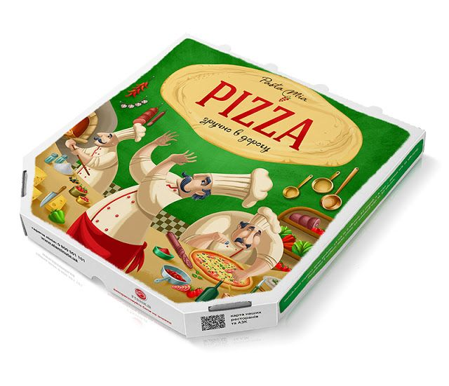 Pasta Mia Pizza Box on Packaging of the World - Creative Package Design Gallery