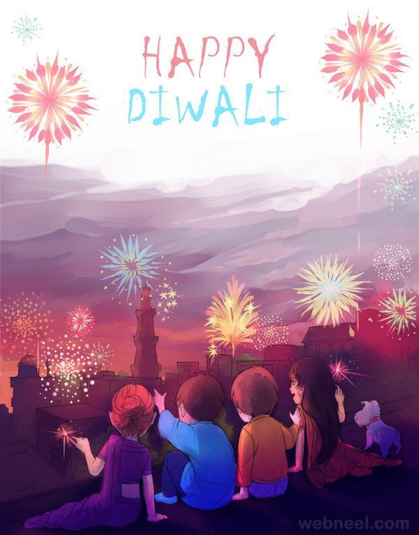 60 Beautiful Diwali Greeting cards and Happy Diwali Wishes. Read full article: w