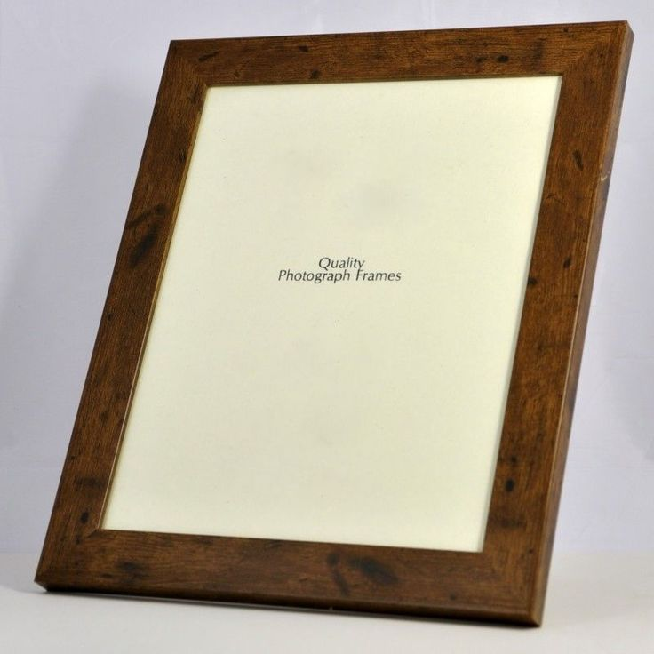 Dark Rustic Wood Finish Photo/Picture Frame 28mm wide - Various Sizes available in Home, Furniture & DIY, Home Decor, Photo & Picture Frames | eBay
