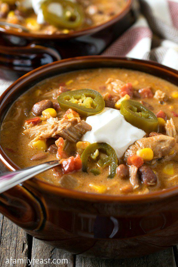 Slow Cooker Tex-Mex Chicken Stew | Pinto beans, Sauces and ...