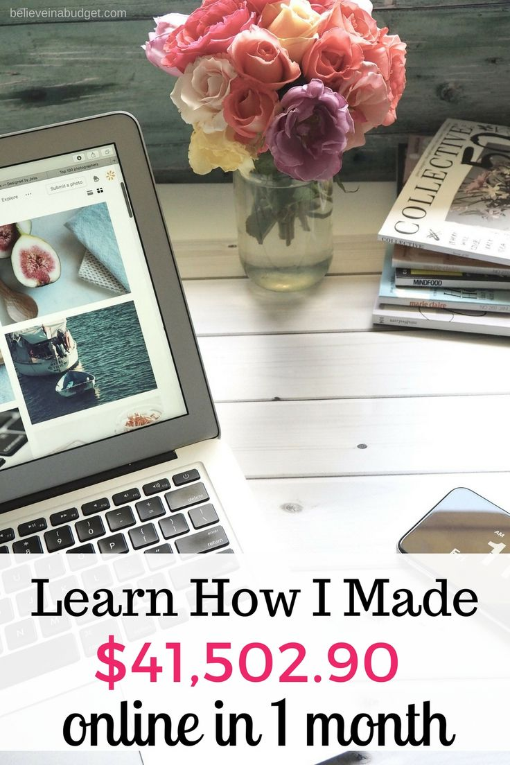 Read my latest online income report. When I started my blog, it was a side hustle. Today I earn a full time online income from my blog and business. Learn how I make money online, tips and how you can make money online!