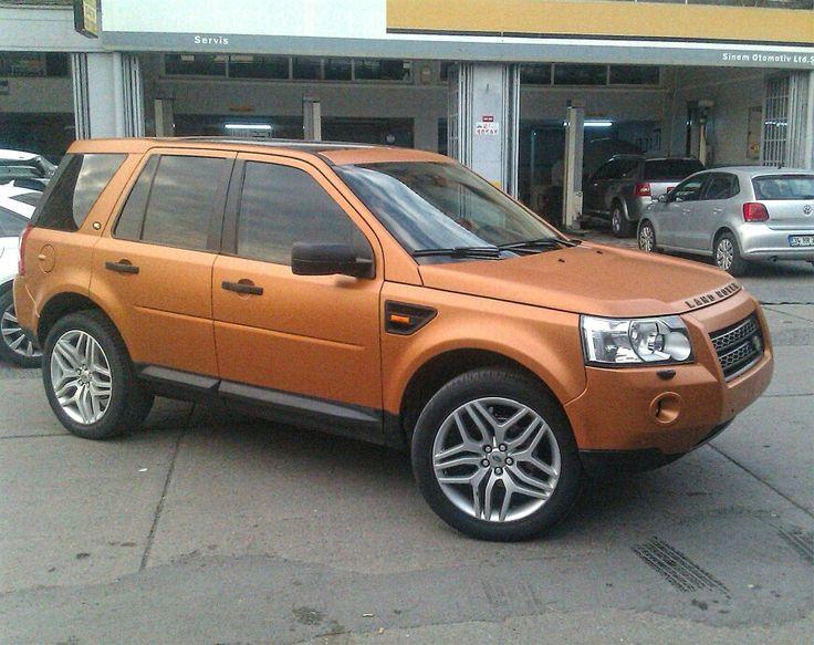 Land Rover Freelander mat bakir (matte copper) folyo ile kaplandi. (0212) 286 48 43 www.autovizyon.com