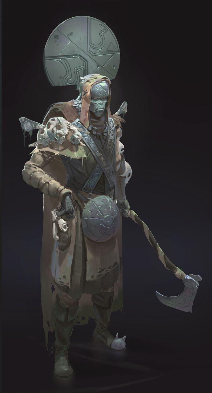 Bones-, Oscar Römer on ArtStation at https://www.artstation.com/artwork/080l8