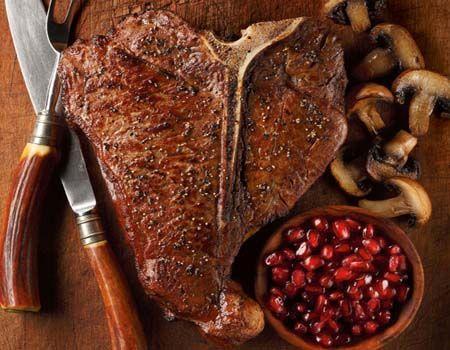 T-Bone Steak : T-Bone Steaks  Porterhouse Steaks : Kansas City Steaks