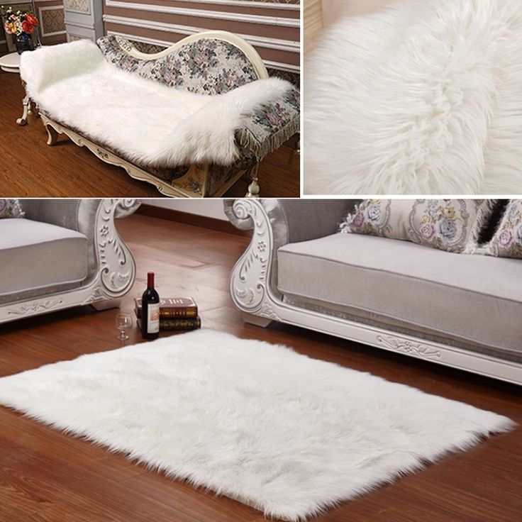 25 best ideas about fluffy rug on pinterest white fluffy rug white fur rug and faux fur rug. Black Bedroom Furniture Sets. Home Design Ideas