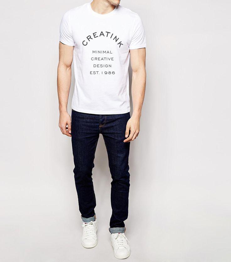 T-shirt Minimalistit. You find it here: http://www.creatink.com/product/t-shirts/minimalistit/ #style #top #white #fashion