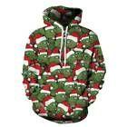 Weihnachten Weihnachtspullover Damen Herren Kapuzen Sweatshirt Hoodie Jumper Top… #oberteile