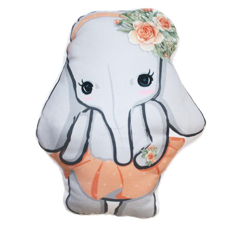 Szoknyás elefánt forma párna - Cute elephant pillow