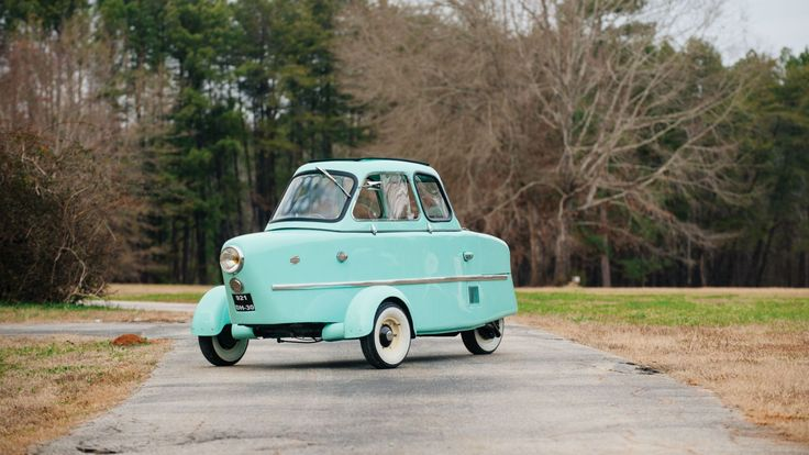 The odd French microcar for sale is said to be one of fewer than 30 that still exist.
