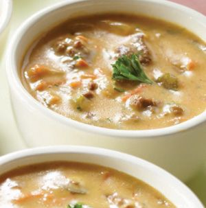 Cheeseburger Chowder is a cool weather favorite! After all, sometimes you need a cheeseburger but grilling isn't always an option.