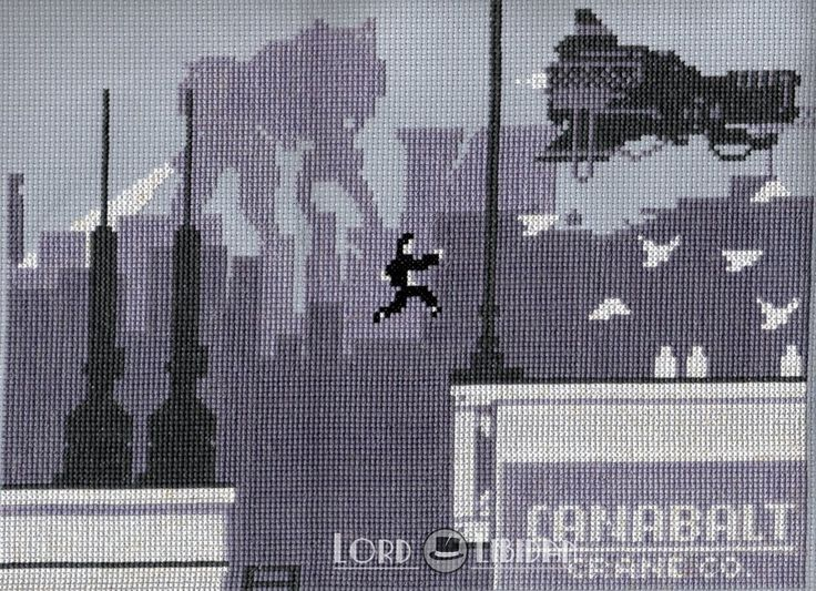 There was once a time when I thought stitching massive areas of grey woul be a good idea #canabalt #crossstitch  https://lordlibidan.com/canabalt-cross-stitch/pic.twitter.com/nJczWc4Utx