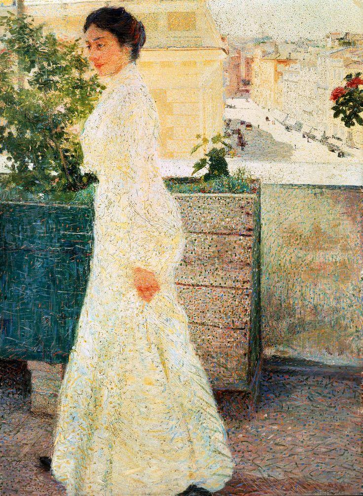 Outdoor Portrait (Giacomo Balla - )