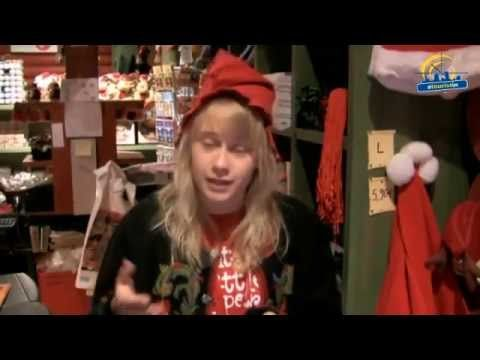 What to do in Santa Claus Village at Arctic Circle, Rovaniemi, Lapland - YouTube