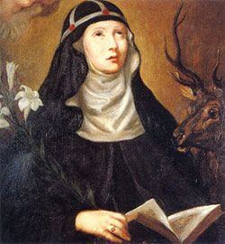 23 de Julio / Año: 1344 / Lugar: Finsta-Vadstena, Suecia / Revelaciones de Jesús y María a Santa Brígida de Suecia (1303-1372)
