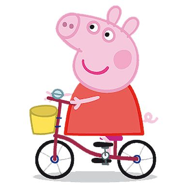 Cartoon Characters: Peppa Pig PNG pack
