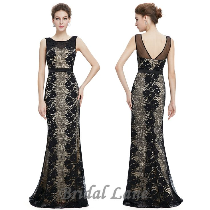 Full lace black and white evening dresses for matric ball / matric farewell in Cape Town - Bridal Lane ♥