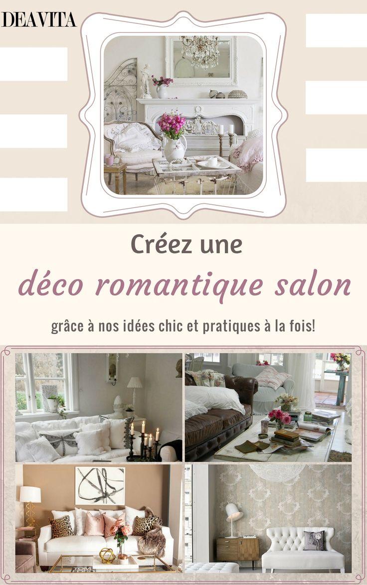 Déco Romantique Salon En 10+ Idées Au Style Shabby Et Plus Encore!  Wohnzimmer Modern