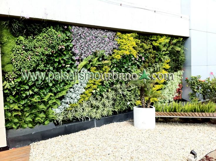 7 best jardin vertical biomax bogota images on pinterest for Paisajismo urbano