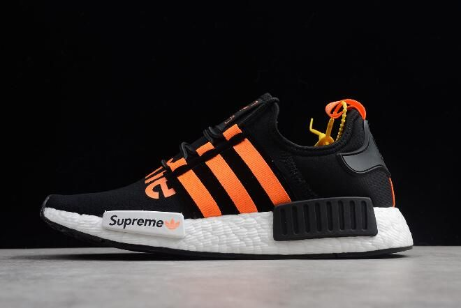 Supreme X Adidas Nmd R1 Black Orange White Da8867 Adidas Nmd R1 Nmd Adidas Adidas