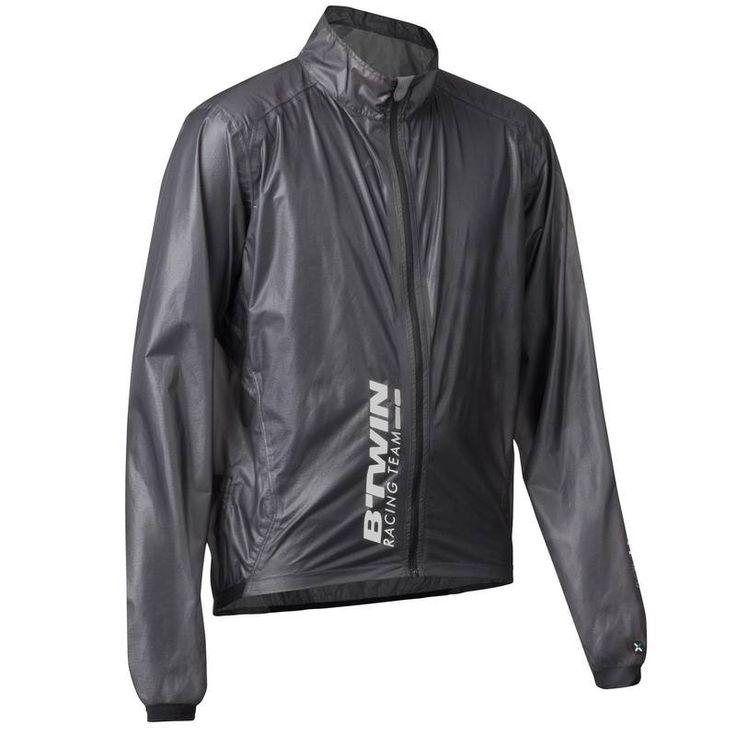 39,99€ - Radsport_BekleidungHelmeSchuhe - Fahrrad-Regenjacke Ultralight 700 Erwachsene grau - B'TWIN