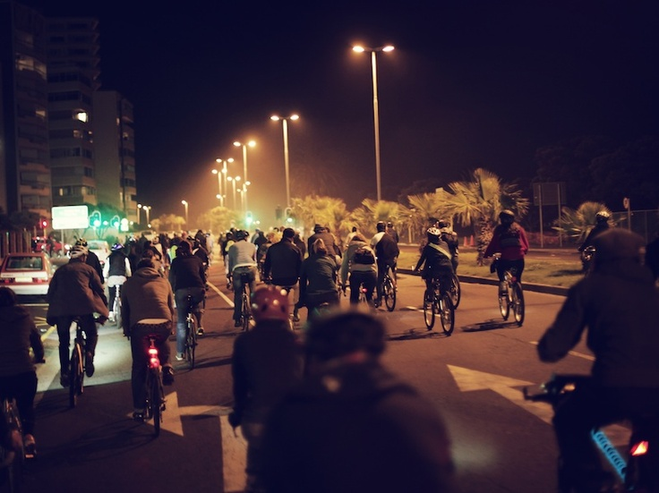 #moonlightmass is a great way to see the inner city. Takes place on full moon of every month